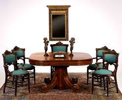 bedroom winsome victorian dining table set chippendale chairs