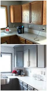 Galley Kitchen Before And After Kitchen Before And After Reveal Builder Grade Kitchen Quartz