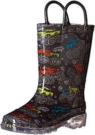 light up rain boots western chief kids monster truck light up rain boot light up shoes