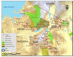 Map Of Tanzania Whole Village Project Tanzania