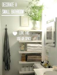 Decorate Bathroom Shelves How To Decorate A Bathroom Interior Decorating Bathroom Ideas Copy