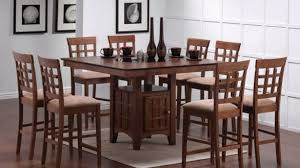 High Dining Room Tables Sets Wood Dining Room Table Sets 7970 New And Chairs Set Intended