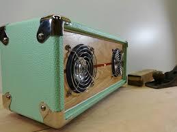 bluetooth speaker retro vintage style wood
