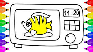 Washing Machine Coloring Page - baby washing machine toys and clothes children coloring book and