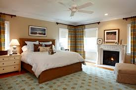 Horizontal Stripe Curtains Innovative Horizontal Striped Curtains In Bedroom Traditional With