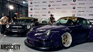 widebody porsche 993 the traditions of art ian king u0027s bagged porsche 993 rwb rwb