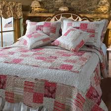 Bedspread Sets King Dada Bedding Floral Carnations Red U0026 White 100 Cotton Reversible