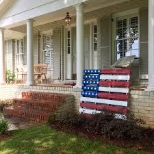 Porch Flag Diy American Flag Pallet Carson Matthews Blog