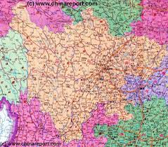 China Province Map Sichuan Province China Overview Map 1 By Chinareport Com