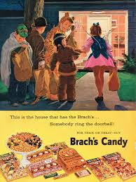 vintage halloween illustration vintage halloween brach u0027s candy advertising from zombos u0027 closet