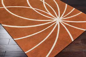 Orange Area Rugs 8 Orange Area Rugs For Your Living Room Furniture
