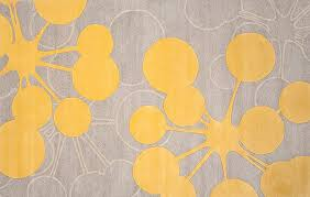 Gray And Yellow Rugs Yellow Contemporary Rug Roselawnlutheran