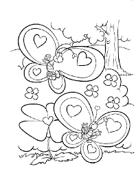 free coloring pages valentines chuckbutt