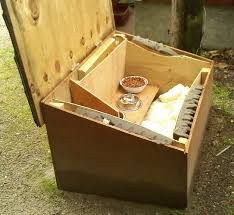 How To Make An Outside Bench 68 Best Diy Feral Cat Shelters U0026 Feeding Stations Images On