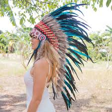 party city halloween sales amazon com feather headdress native american indian inspired