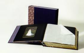 Photo Album With Black Pages Nicole Andersen Book Arts Custom Made Albums Portfolios And
