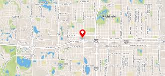 Twin Cities Zip Code Map by Concierge Apartments Richfield Mn 55423