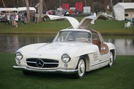 classic mercedes coupe mechanic crashes rare mercedes benz 300sl