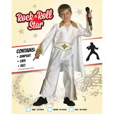 kids elvis rock star fancy dress 1950s costume morph costumes uk