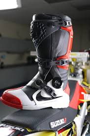 motocross gear boots james bubba stewarts nike arimx 6 0 boot moto croos pinterest