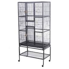 bird parrot cage chinchilla cockatiel conure large w stand door