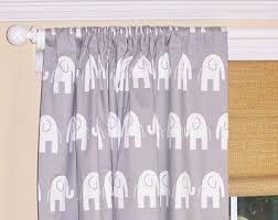 Drapery Panels 96 Elephant Curtains Etsy