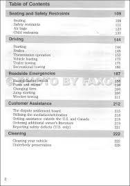 2002 ford ranger owner u0027s manual original