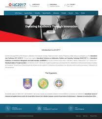 international joint conference 2017 faizal haini web design