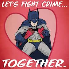 batman valentines card batman wants to be your