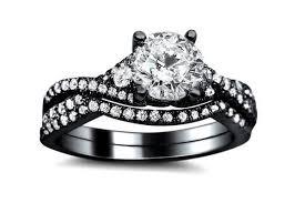 black box rings images Womens black engagement rings my jewelry box pinterest black jpg
