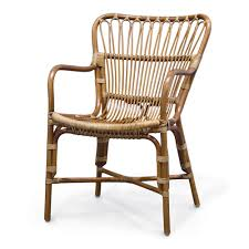 buy the palecek retro rattan dining arm chair set of 2 pk 7613