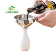 distributeur cuisine jiangchaobo acier inoxydable petit entonnoir huile bouilloire
