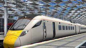 cgi of new electric trains between and swansea news