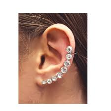 ear cuffs uk glitzy pair of ear cuffs from kingsley uk