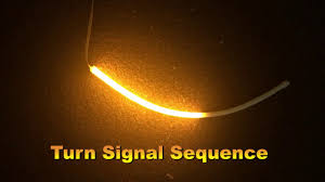 led light strip turn signal sequential turn signal strips switchback drl s beautiful flowing