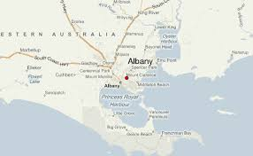 albany map albany australia location guide