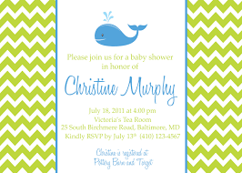 whale baby shower invitations template wording for baby shower invitations