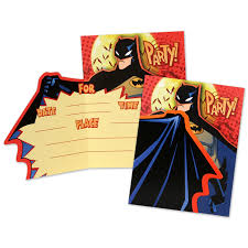 winning personalized batman party invitations birthday party