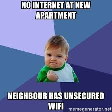 No Internet Meme - meme no internet at new apartment steemit
