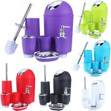european style bathroom accessory set soap dish dispenser tumbler
