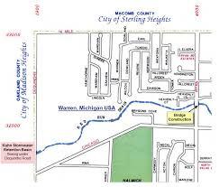The Warren Floor Plan by Operating The Gwk Retention Basin Red Run