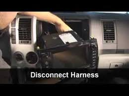 stereo replacement installation guide for toyota tundra youtube