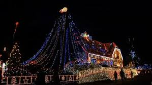 christmas light blackout caps incredible german christmas house that sparkles with more than
