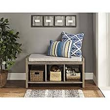 entryway bench with baskets and cushions entryway bench storage baskets
