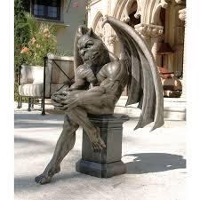 garden sculpture large and gargoyle statues