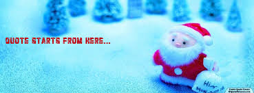 custom wishes covers santa claus fb covers