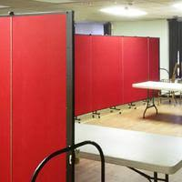 Rolling Room Dividers by Screenflex Portable Room Dividers Folding Doors And Room Dividers