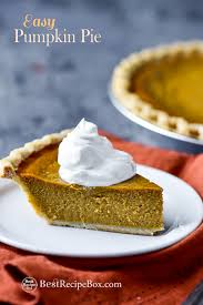 easy pumpkin pie recipe that s and delish