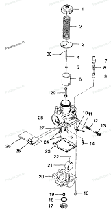 polaris atv parts 1999 a99ba25ca trail blazer 250 carburetor diagram