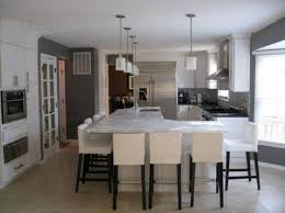 Stools For Kitchen Island Appliances Fascinating Kitchen Island With Hanstone Countertop